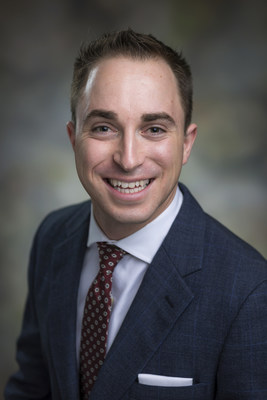 Joel Berends, Urology Care Foundation's 2018 Physician Scientist Residency Training Award Recipient