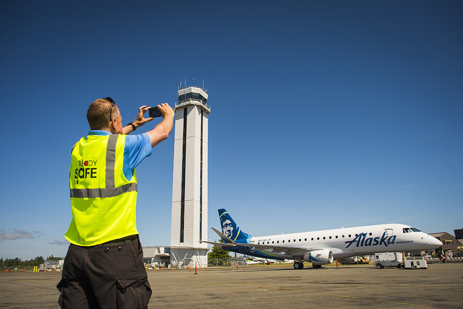 Employees and guests excited for Alaska Airlines tickets from Paine Field to go on sale starting today.