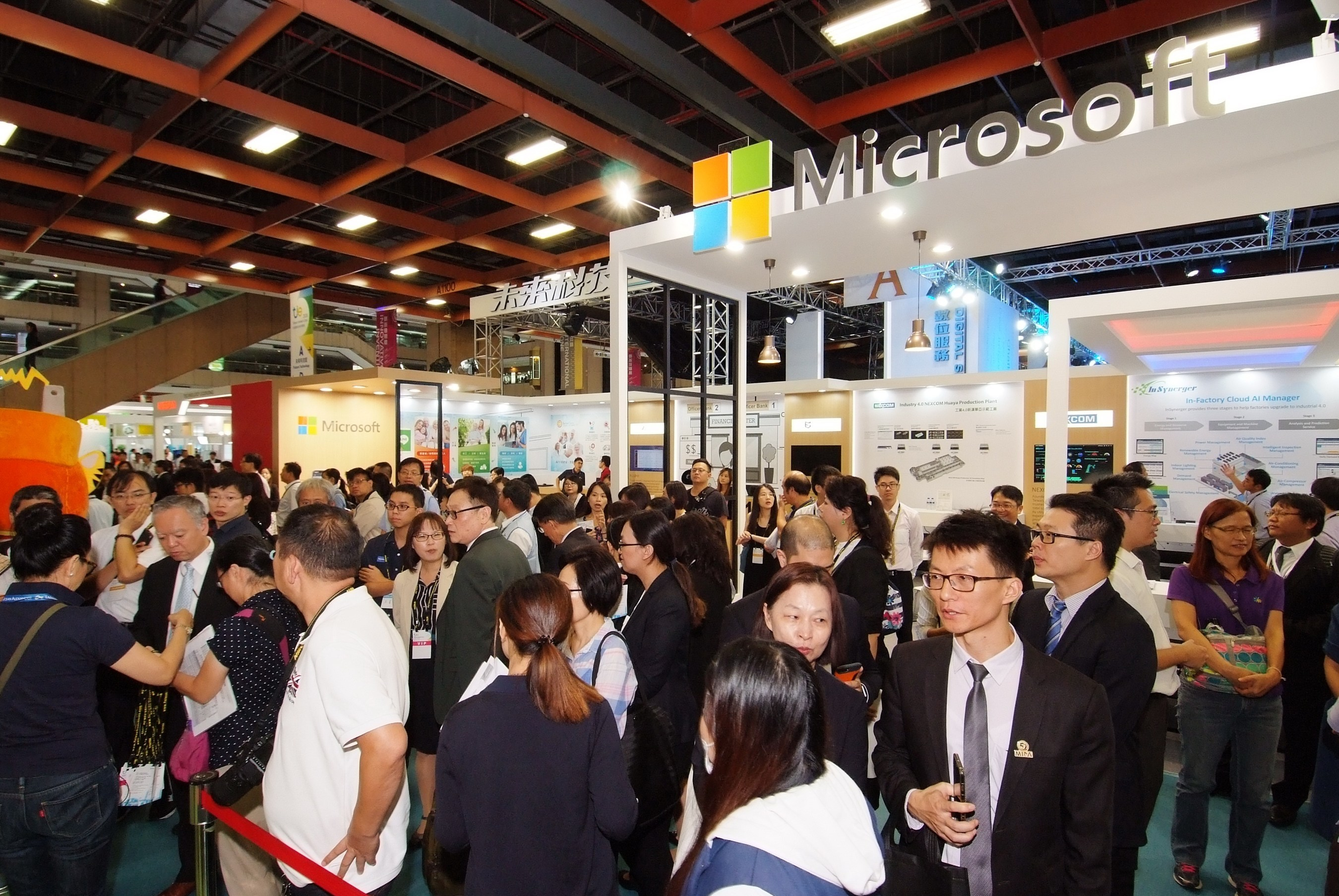 TIE attracted over 45,000 visitors to engage in technology exhibitions organized by domestic and foreign companies.