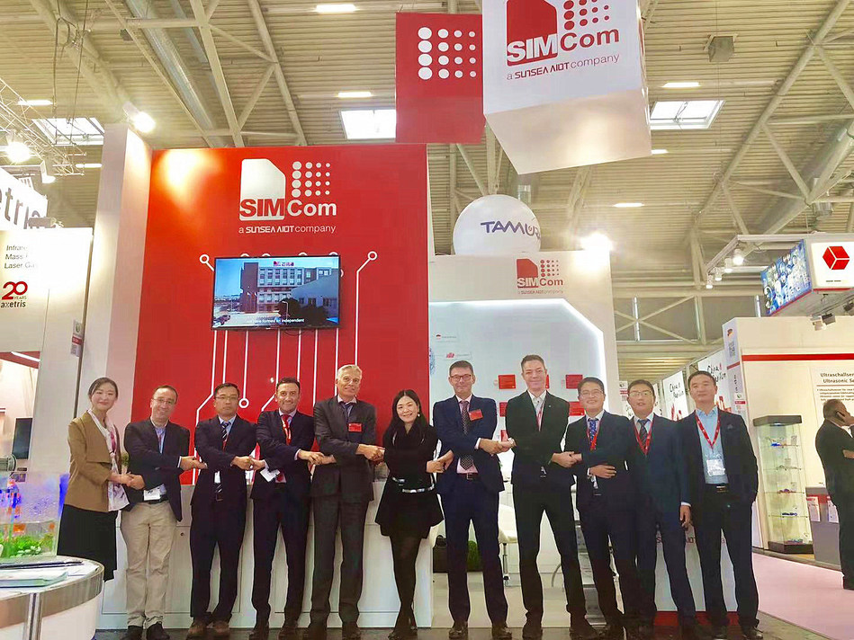 SIMCom Made a Wonderful Appearance at Electronica 2018 in Munich