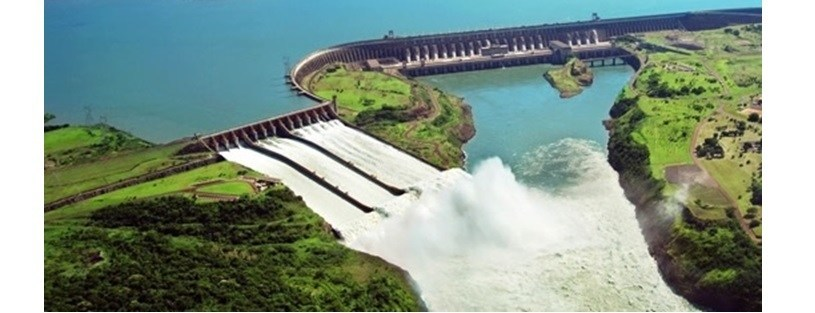 Itaipu Hydro Power Plant in Paraguay (Source: Paraguay Foreign Ministry website)