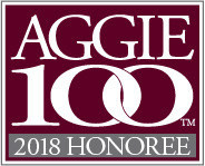 2018 Aggie 100 Honoree