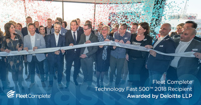 Fleet Complete's fast, sustainable growth globally is recognized by Deloitte Fast 500. (CNW Group/Fleet Complete)