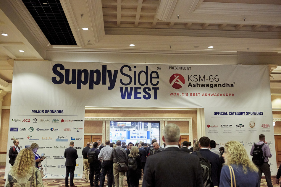 – SupplySide West, the leading ingredients and supply-chain event for the health and nutrition industry, gathered 1,300 exhibitors with more than 17,000 global professionals, an 8 percent increase from 2017 and a record for the show. Now in its 22nd year, the event returned to Mandalay Bay in Las Vegas from November 6-10, 2018.