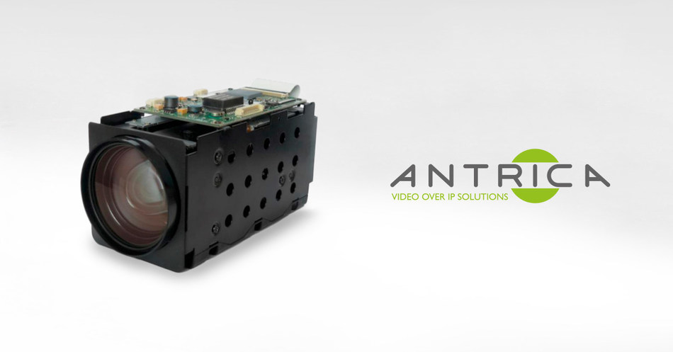 Antrica Launches ANT-ZB1200 ONVIF Ready Zoom Block With Integrated H265/264 Encoder Compression (PRNewsfoto/Antrica)