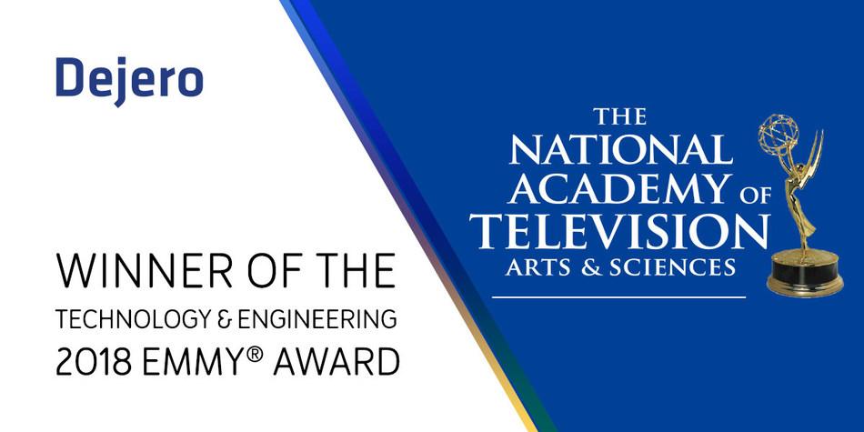 Dejero Wins Prestigious Emmy® Award for Technology and Engineering (CNW Group/Dejero)