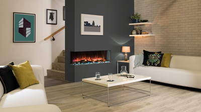 The Regency Skope Electric E110 can be installed as a 3-sided bay unit or a 2-sided left or right corner.