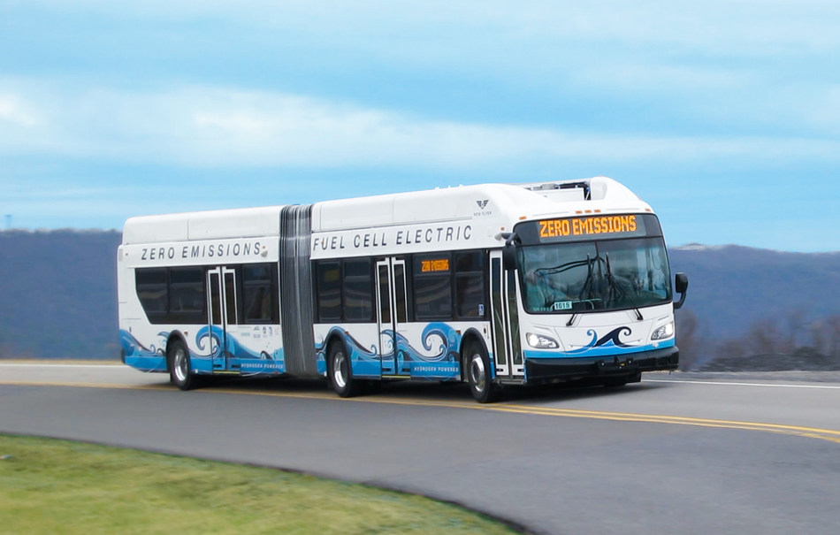 New Flyer's sixty-foot electric Bus Rapid Transit models become the