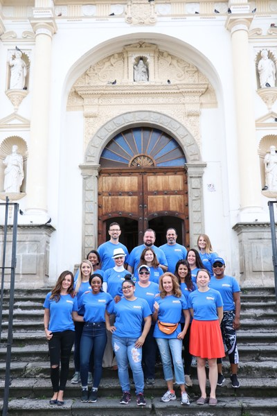 """The Aspen Dental """"Smiles for Guatemala"""" volunteer team provides dental care and oral health education to more than 740 local Guatemalan children."""