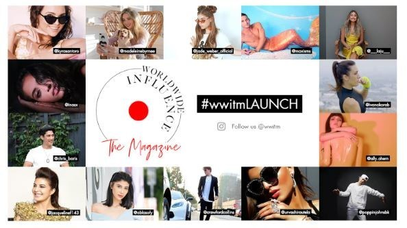 Worldwide Influence The Magazine Online Splashy Launch Celebration Scheduled For Saturday, November 17, 2018 at SIXTY Beverly Hills For LA's Media Community