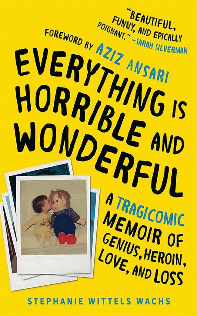 hoopla book club's current spotlight title: EVERYTHING IS HORRIBLE AND WONDERFUL by Stephanie Wittels Wachs