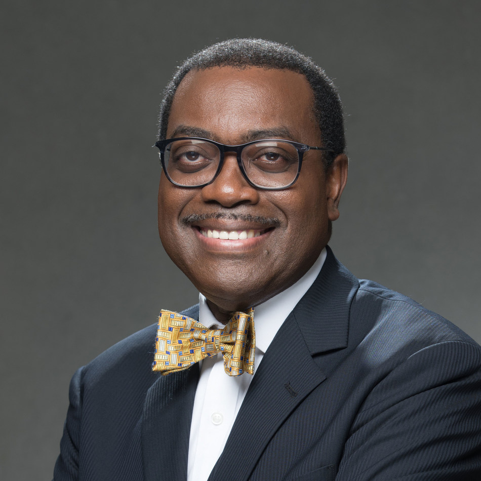 Dr. Akinwumi Adesina, the President of the African Development Bank Group