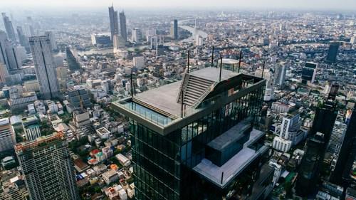 King Power Mahanakhon Unveils New World Class Tourist Destination 'Mahanakhon SkyWalk' Thailand's Highest 360-degree Observation Deck and Rooftop Bar