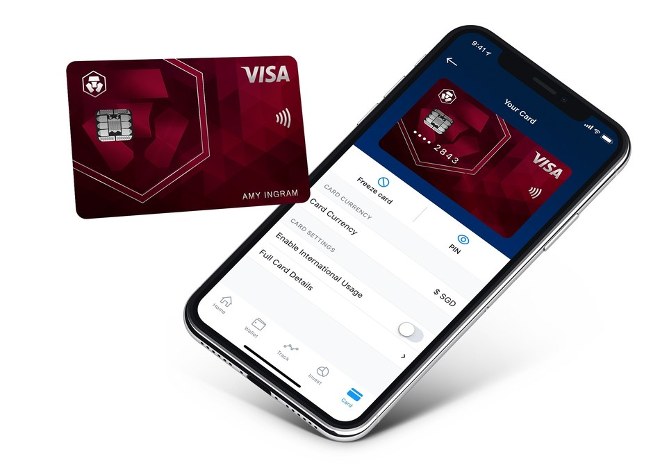 Metropolitan Commercial Bank to Issue MCO Visa Cards in the United States (PRNewsfoto/Crypto.com)