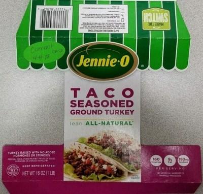 Jennie-O TACO SEASONED GROUND TURKEY (PRNewsfoto/Jennie-O Turkey Store)