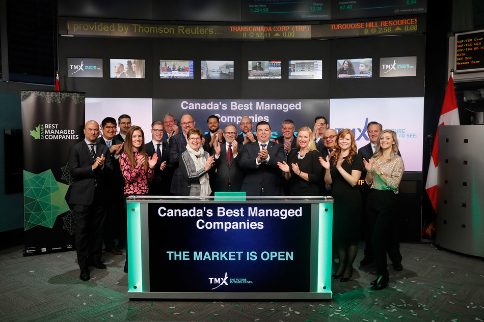 Canada's Best Managed Companies Opens the Market (CNW Group/TMX Group Limited)