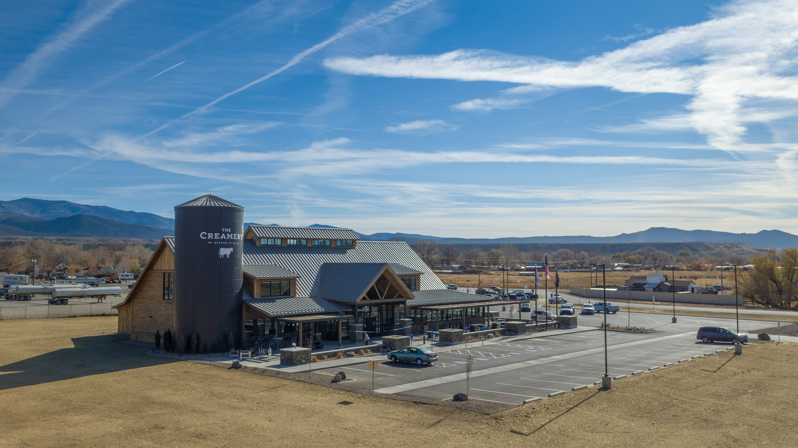 The Creamery is a new, farm-to-table interactive retail store and café located in Beaver, Utah, which is supplied and owned by local family dairy farms. The Creamery features locally produced, farm-fresh cheeses and its famous cheese curds from Utah-area dairy farmers. Created by Dairy Farmers of America (DFA), a national dairy cooperative owned by family farmers, The Creamery opens to the public on Saturday, November 16. For more information, visit thecreameryutah.com (PRNewsfoto/Dairy Farmers of America)