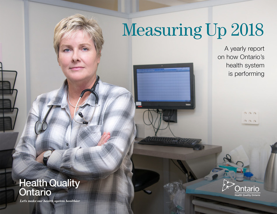 Measuring Up 2018, Health Quality Ontario's yearly report on the performance of the province's health system. (CNW Group/Health Quality Ontario)