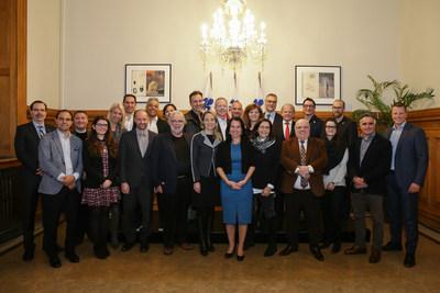 Les représentants de la mission économique de la mairesse à Los Angeles (Groupe CNW/Ville de Montréal - Cabinet de la mairesse et du comité exécutif)