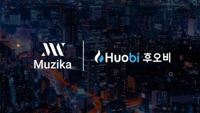 Blockchain Consortium Muzika First Project to be Single-listed on Huobi Korea