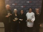 UQAT presents five medals of honour to educational leaders from the communities of Ivujivik, Puvirnituq, and UQAT (CNW Group/Université du Québec en Abitibi-Témiscamingue (UQAT))