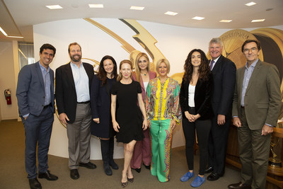 CREDIT: Noa Grayevsky | Jury for 2018 JCS International Young Creatives Award: Michal Grayevsky, President, JCS International; First Lady of Panama Lorena Castillo Garcia De Varela; Patrick Connolly, SVP of Programming for AMC/SundanceTV Global; Amy Hargreaves, Actress & Producer; Mozhan Marnò, Actress & Producer; Ben Pyne, Independent Consultant, Pyne Media; Stephen Segaller, VP Programming, WNET Channel 13 and Daniel Wiedemann, Bureau Chief, Americas Office, TV Globo.