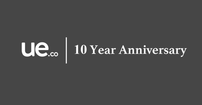 Software as a Service Company UE.co celebrates 10 years of business.