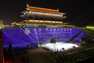 The closing ceremony of the 2018 China-EU Tourism