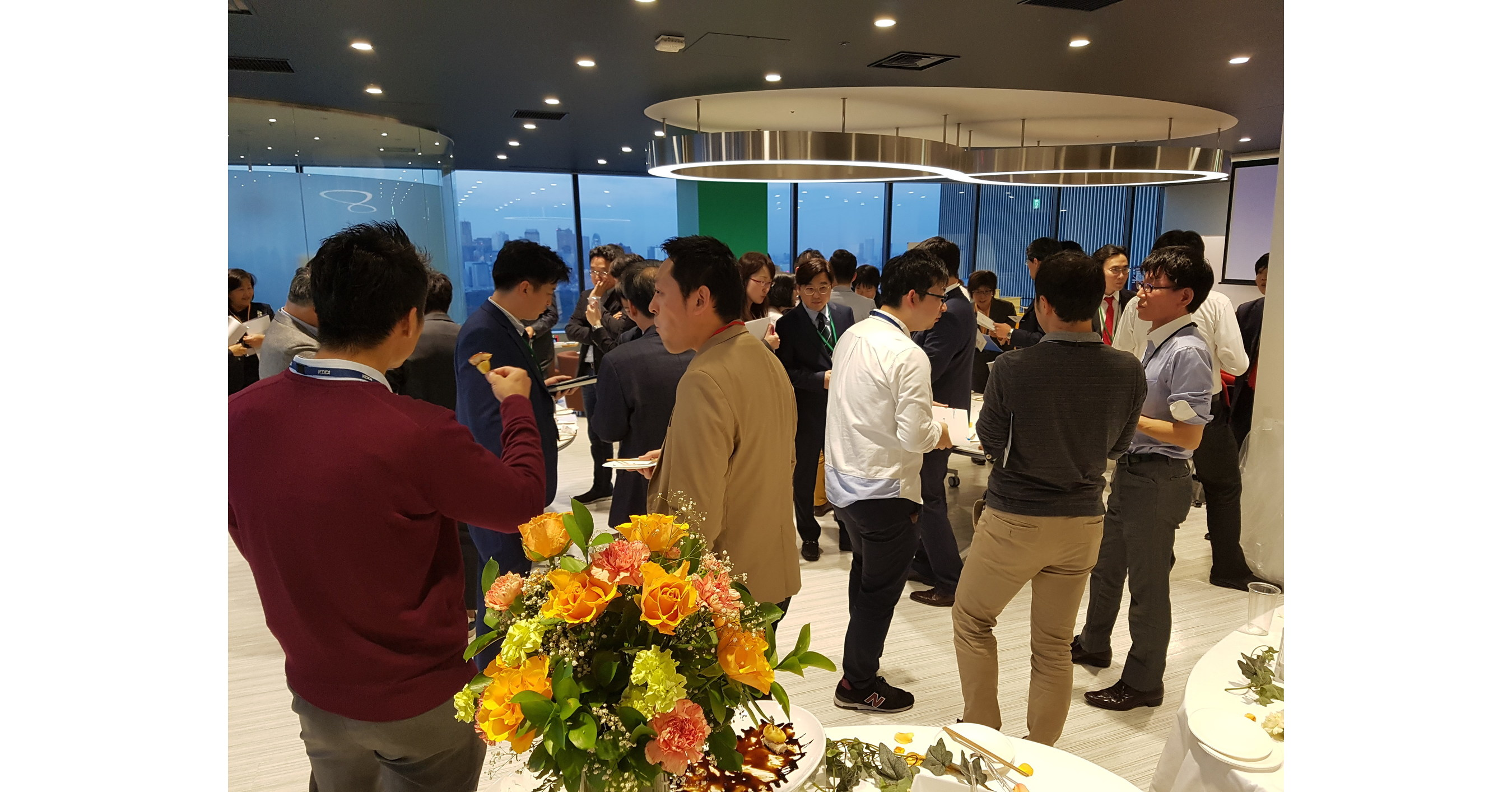 QnA VBage IoT Roadshow Launch @ IoT Tech Expo NA 2018 -- showcasing Highlights of the Korean IoT Industry