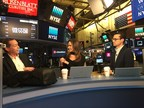 CEO Marcello Leone speaking live at NYSE. (CNW Group/RYU Apparel Inc.)