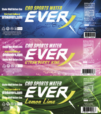 Puration Inc Announces Redesigned EVERx CBD Infused Water Packaging to Hit Shelves Next Week