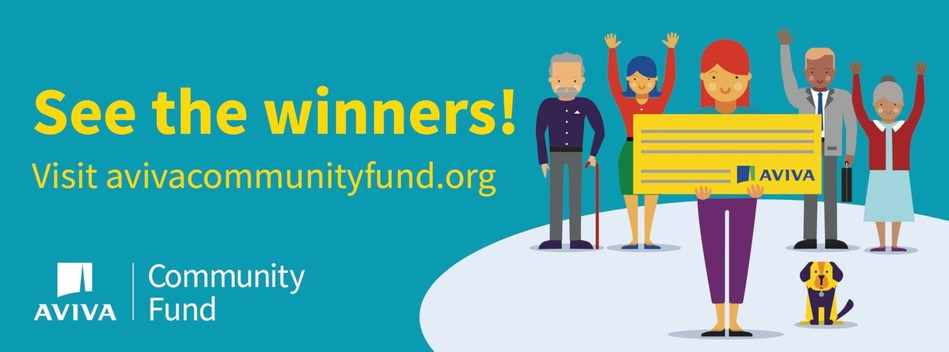 Congratulations to this year's #AvivaCommunityFund winners! See all the ideas that will create a positive impact in their communities. (CNW Group/Aviva Canada Inc.)