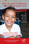The 2018 Gifts for Good catalogue. (CNW Group/Christian Children's Fund of Canada)