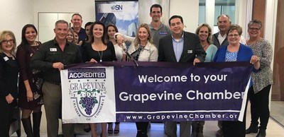 The OSN Southlake office opening double ribbon cutting was attended was attended by fellow Grapevine and Southlake Chamber of Commerce members and the real estate community.