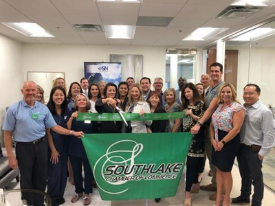 The OSN Southlake office opening was commemorated by a ceremonial double ribbon cutting by the Southlake Chamber of Commerce and Grapevine Chamber of Commerce.