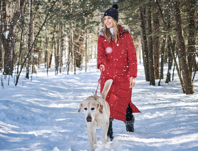 LANDS' END'S WOMEN'S FAUX FUR HOODED DOWN WINTER LONG COAT SELECTED AS ONE OF THIS YEAR'S OPRAH'S FAVORITE THINGS