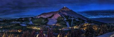 A moonlit night on Lone Peak. Photo Courtesy: Visit Montana/Colton Stifler