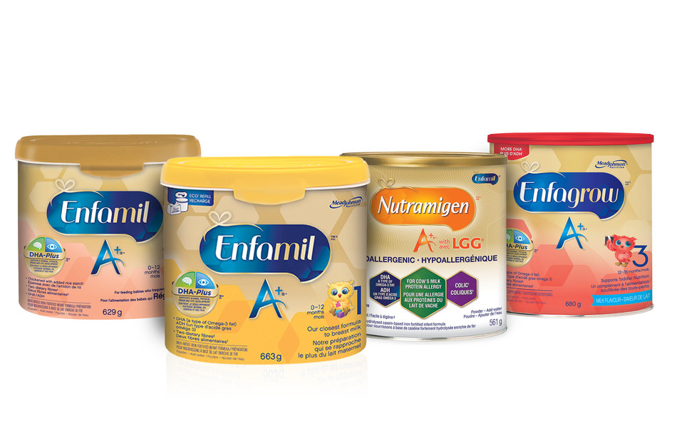Enfamil family of brands (CNW Group/SCI Group Inc.)
