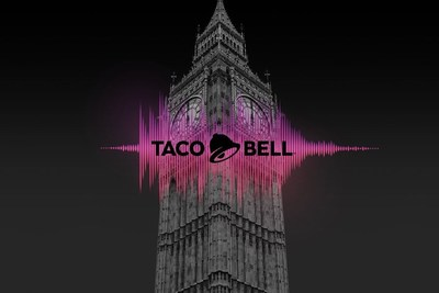 London has become a city without a bell due to Big Ben's construction, but thanks to Taco Bell, that's no longer the case. Yesterday, Taco Bell chimed in with a sound that London has been missing for over a year: Big Ben's bells. The move marks the world's leading Mexican-inspired restaurant's entry into London, one of the brand's most requested cities for entry.