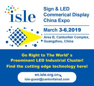 A Feira Internacional de Painéis & LED de 2019 será realizada de 3 a 6 de março em Guangzhou, China