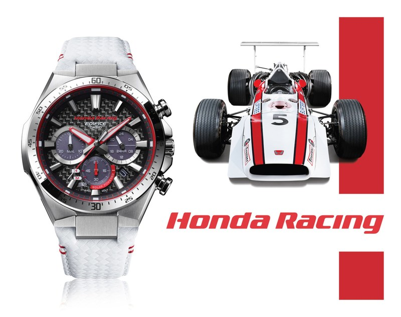 Casio India launches new limited edition EDIFICE watch in collaboration with Honda Racing (PRNewsfoto/Casio India Co. Pvt. Ltd.)