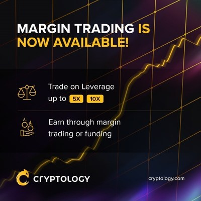 Cryptology Exchange unveils margin trading function - Leverage up to 5x, 10x with BTC/EURO and ETH/EURO pairings