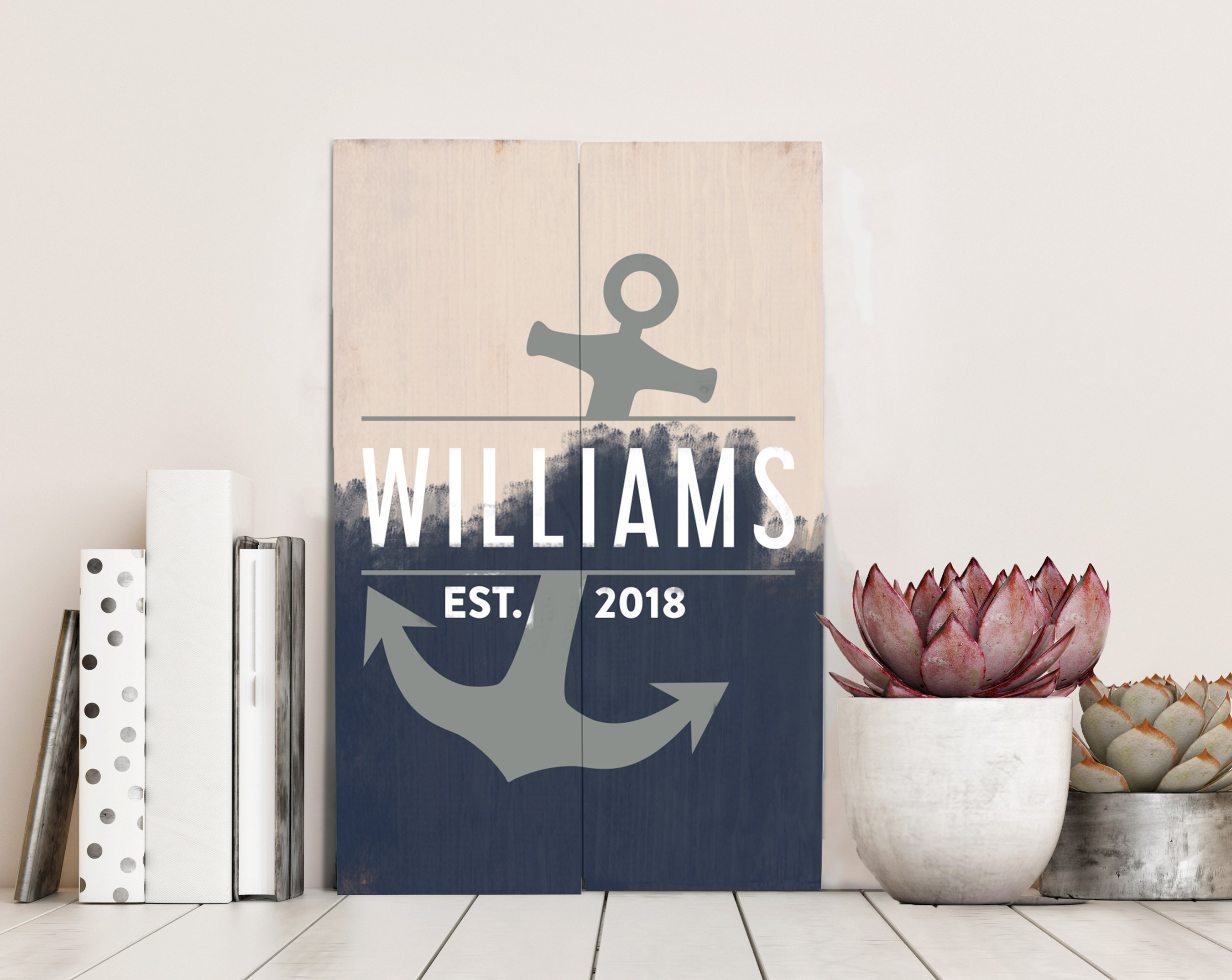 Design a Sign events guide you through the act of creating your own personalized wooden sign.