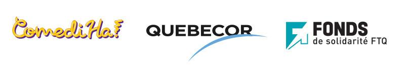 ComediHa! welcomes Quebecor as a strategic partner (CNW Group/ComediHa!)