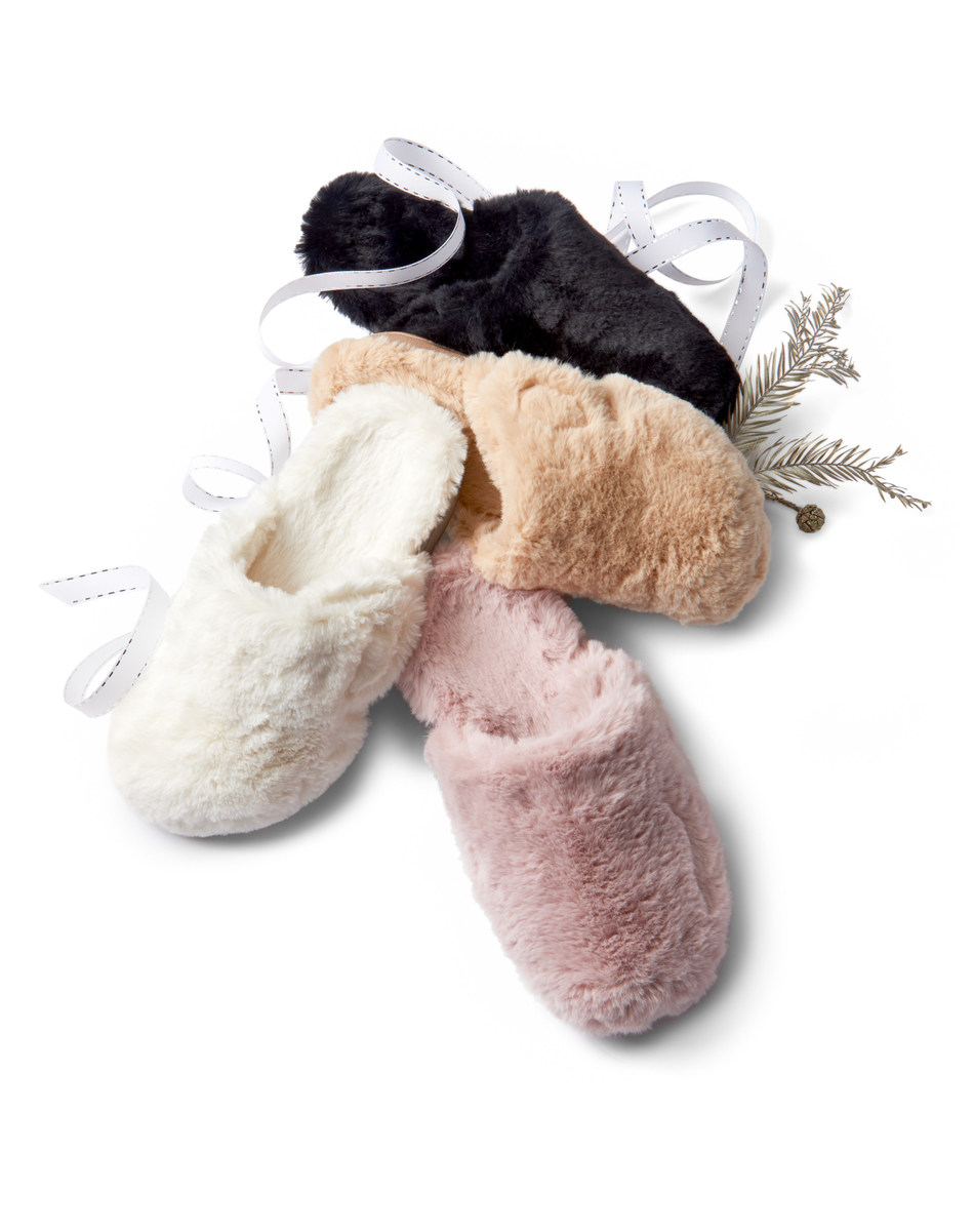Vionic Gemma Plush Slippers selected as one of Oprah's Favorite Things 2018! www.vionicshoes.com
