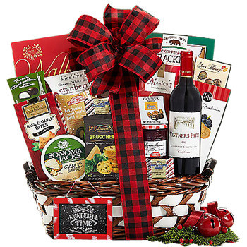 Send holiday gifts around the world with GiftBasketsOverseas.com