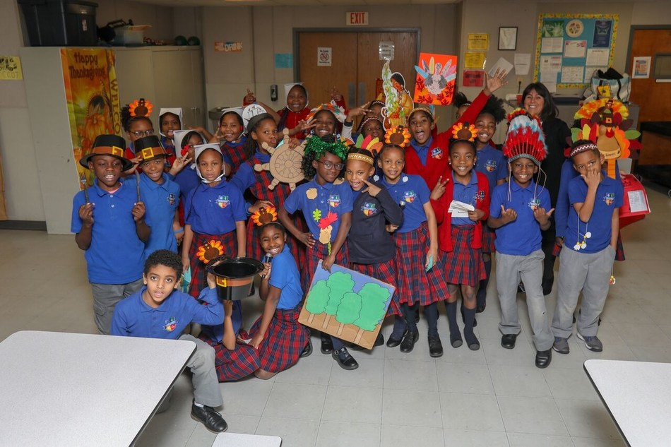 CCCS Students in Thanksgiving Play