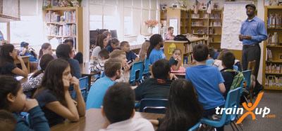 TrainUp Gives Back - Jeremy Speaks to the Kids of New Horizons