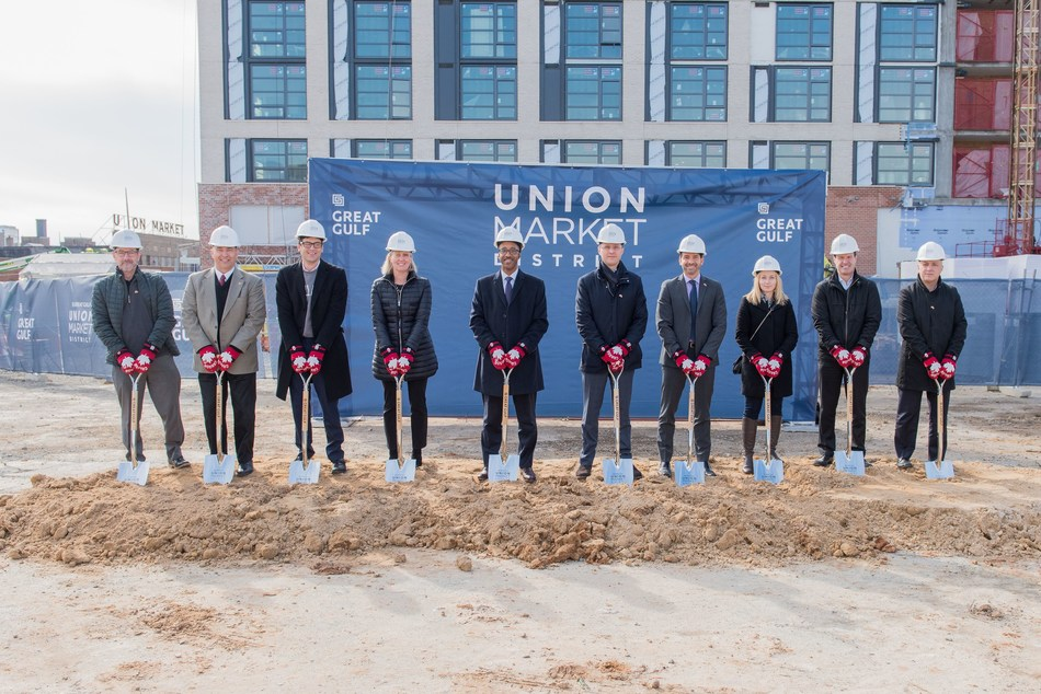 Great Gulf - First Canadian Developer to Break Ground in Washington DC's Union Market District (CNW Group/Great Gulf)