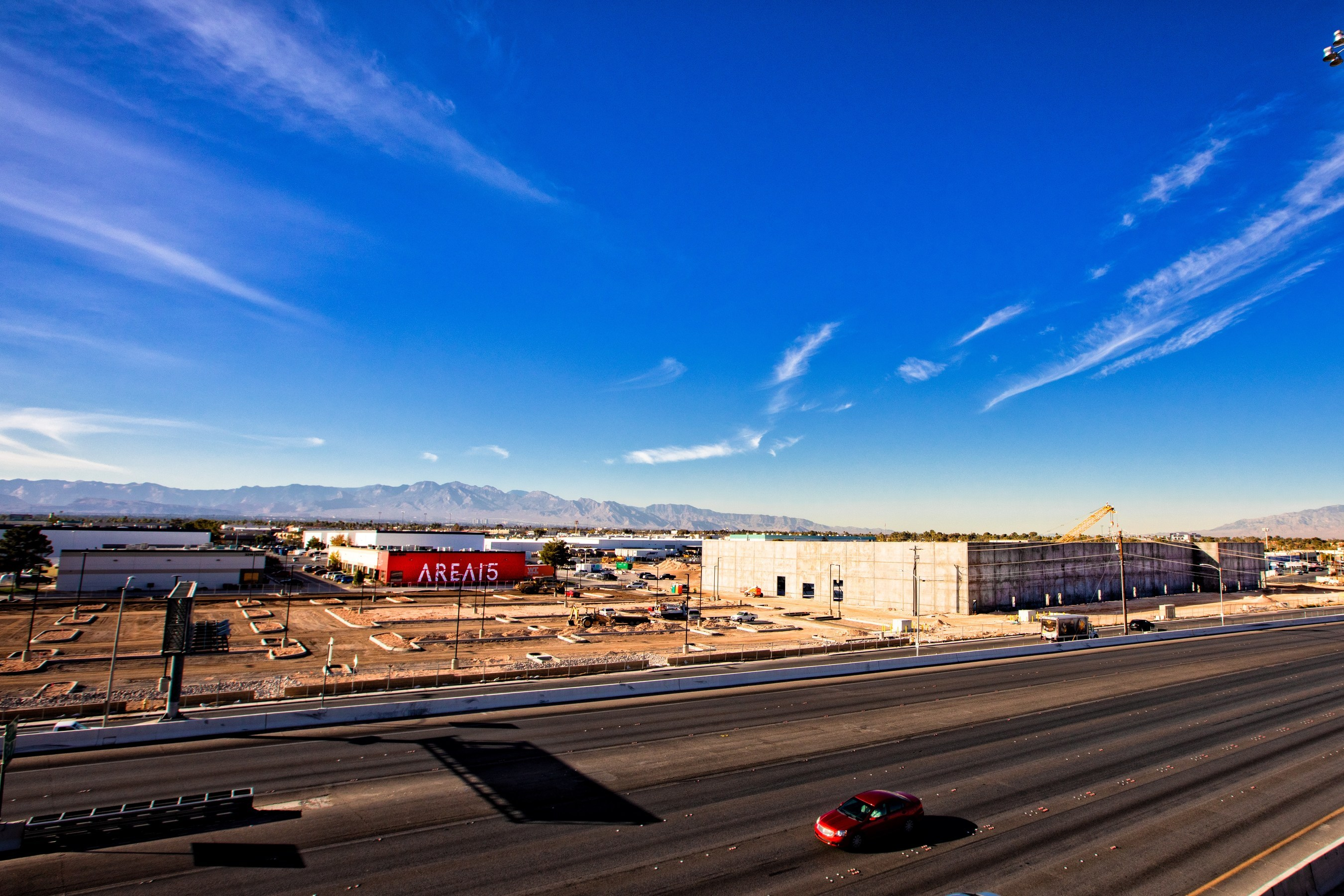AREA15 Construction Update; Photo Credit: Laurent Velazquez